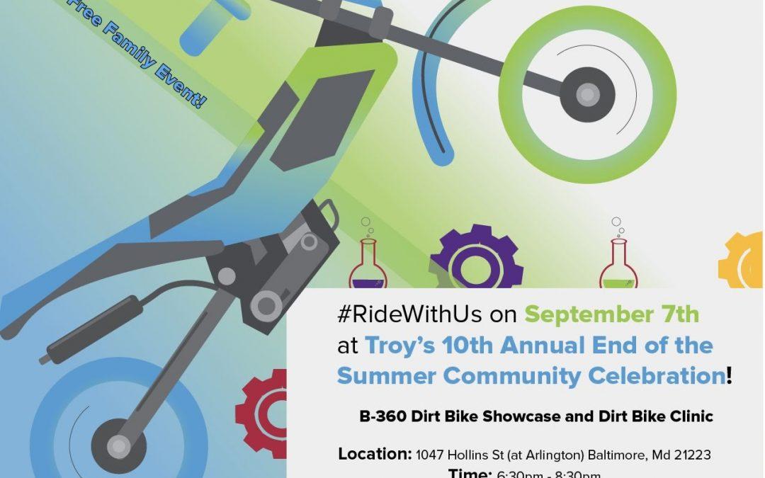 #RideWithUS : This Saturday Sept 7